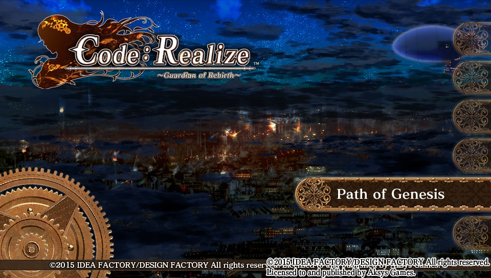 code realize 3