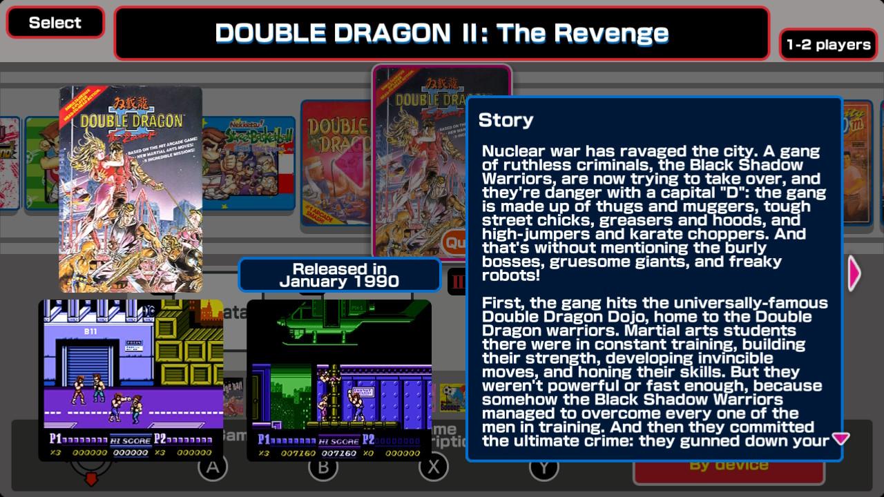 Double Dragon Kunio Kun Retro Brawler Bundle Recenzje Switch Myhandhelds Pl